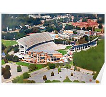 Death Valley at 700' - Clemson University Poster
