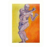 Martial Arts Art Print