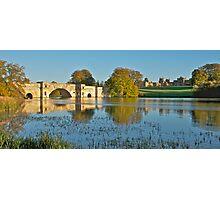 Lakeside at Blenheim Palace Photographic Print