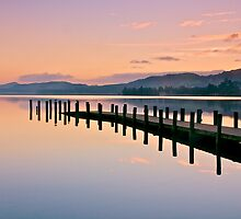 Twilight over Coniston Water by Images Abound | Neil Protheroe