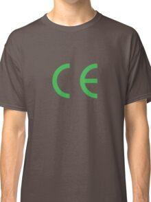 EC european conformity Classic T-Shirt