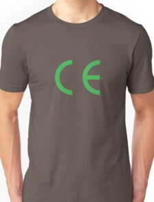 EC european conformity Unisex T-Shirt