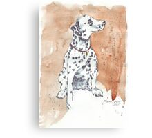 Only one Dalmation Canvas Print