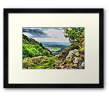 View from the hills. Framed Print
