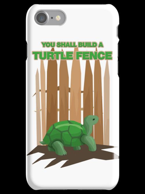 Turtle Fence by designpickles