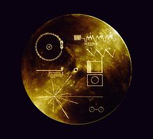 Voyager Golden Record by Upbeat