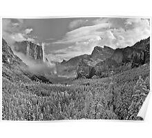 Yosemite Winter Wonderland Poster
