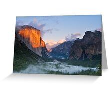 El Capitan, Yosemite National Park Greeting Card