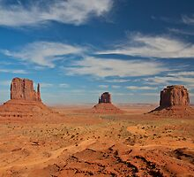 Mitten Buttes, Monument Valley by Images Abound | Neil Protheroe
