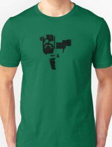 8mm Camera - Bolex - Black Line Art Unisex T-Shirt