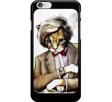 Catt Matt Smith posed as Dos Equis Interesting Man iPhone Case/Skin