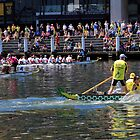 Dragonboat race at Darling Harbour by miroslava