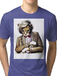 Catt Matt Smith posed as Dos Equis Interesting Man Tri-blend T-Shirt