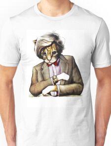 Catt Matt Smith posed as Dos Equis Interesting Man Unisex T-Shirt