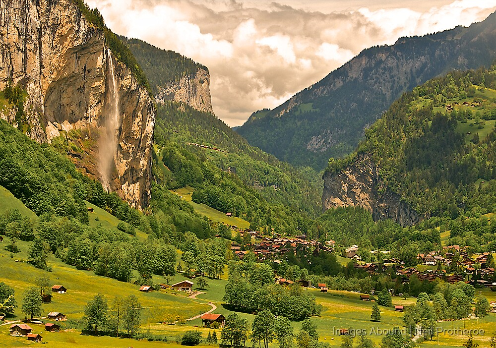 The Lauterbrunnen Valley by Images Abound   Neil Protheroe