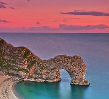 Twilight at Durdle Door by Images Abound   Neil Protheroe