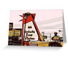 The Big Chicken - Marietta, Ga Greeting Card