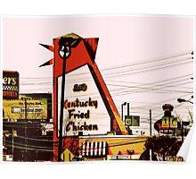 The Big Chicken - Marietta, Ga Poster
