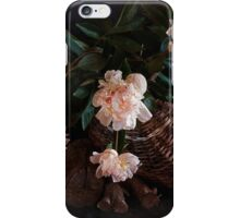 This Still Life with Peonies iPhone Case/Skin