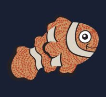 Happy Little Clownfish by Janet Antepara