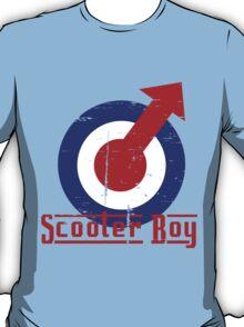 Retro look scooter boy mod target design T-Shirt
