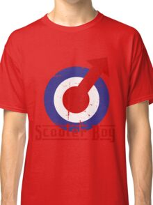 Retro look scooter boy mod target design Classic T-Shirt