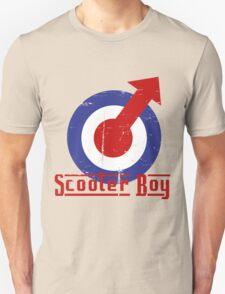 Retro look scooter boy mod target design Unisex T-Shirt