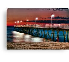 Blood Red Sky Canvas Print