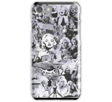 mz marilyn  iPhone Case/Skin