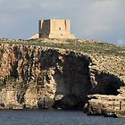 Comino Cliffs &amp; Fort, Malta by Jane McDougall
