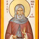 St Herman of Alaska by ikonographics