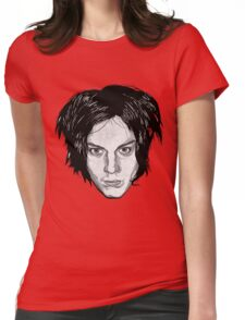 Jack White Womens Fitted T-Shirt
