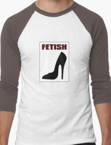 FETISH - Highly Erotic High Heels Men's Baseball ¾ T-Shirt