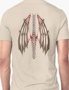 Spine wings Unisex T-Shirt