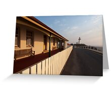 The Lighthouse Keepers Cottage Greeting Card