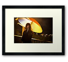 The Girl with the Ribbon Framed Print