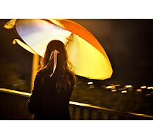 The Girl with the Ribbon Photographic Print