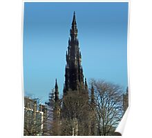 The Scott Monument, Edinburgh Poster