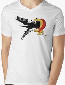 Thundera Thunders Mens V-Neck T-Shirt