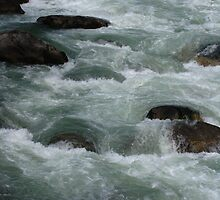 Rapids, Bhutan by Geoffrey Higges