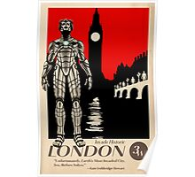 Visit London, Most Invaded City in the Whoniverse! Poster