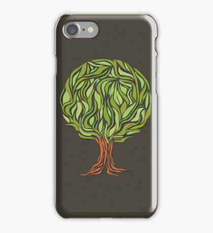 Illusion  tree iPhone Case/Skin