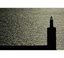 Chimney By The Sea Photographic Print