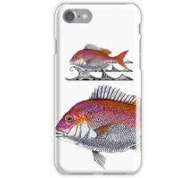 snapper - tribal waves iPhone Case/Skin