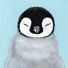 Emperor Penguin Chick by Lisa Marie Robinson