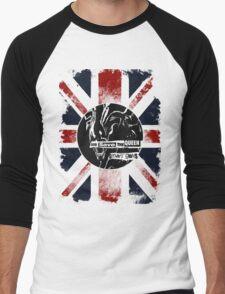 God Save the Alien Queen Men's Baseball ¾ T-Shirt