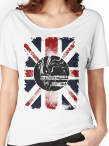 God Save the Alien Queen Women's Relaxed Fit T-Shirt