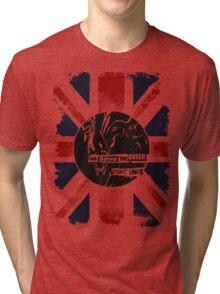 God Save the Alien Queen Tri-blend T-Shirt