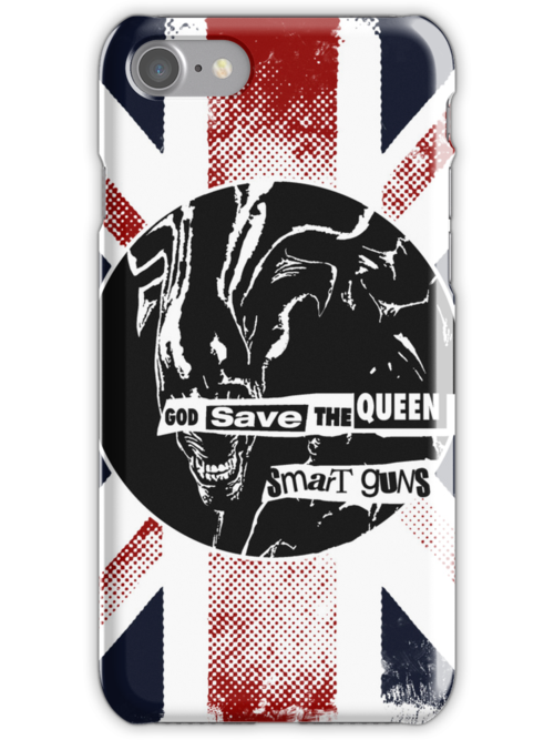 God Save the Alien Queen by popephoenix