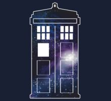 It's Bigger on the Inside (Galaxy in Tardis) by Jacqui Frank